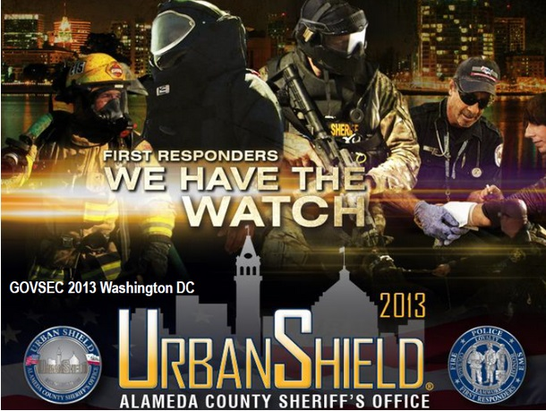 •Urban Shield is a continuous, 48-hour Full Scale Multi-Disciplinary Homeland Security/Disaster Preparedness Exercise hosted by the Alameda County Sheriff's Office, with the support of the Bay Area...